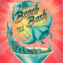 Sips Under the Sea: Beach Bash 1