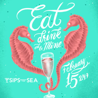 Sips Under the Sea: Eat, Drink & Be Mine 1
