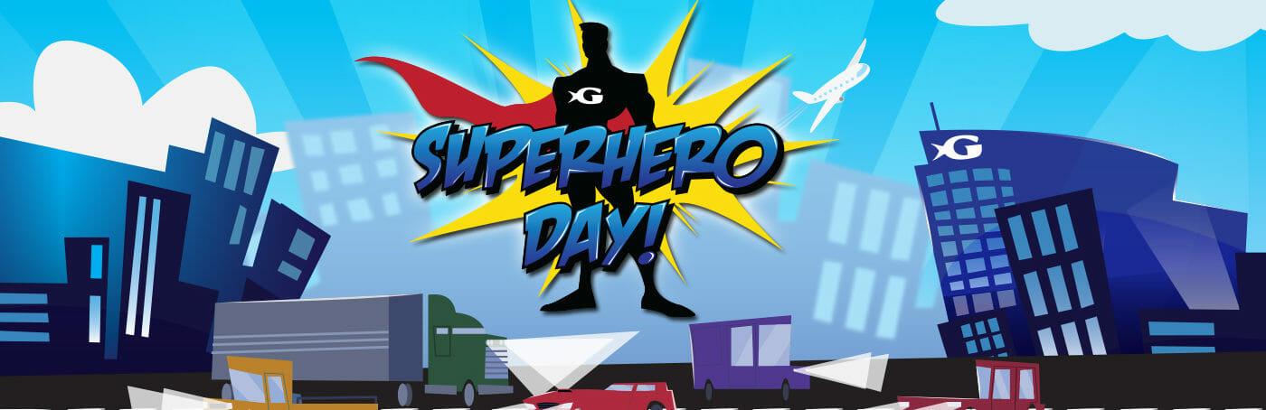 Superhero for the Ocean Day