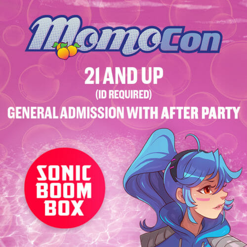 MomoCon Night with Sonic Boom