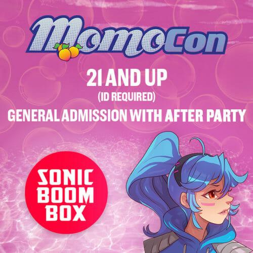 MomoCon Night with Sonic Boom