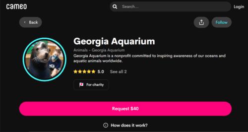 Georgia Aquarium on Cameo