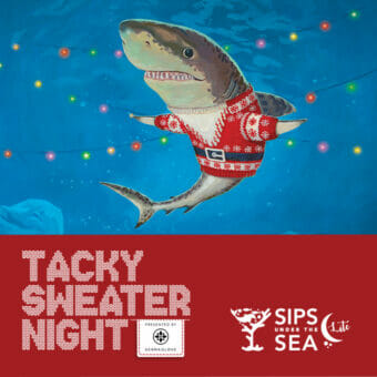Sips Under the Sea Lite: Tacky Sweater 2