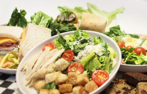 Dining at Georgia Aquarium's Café Aquaria 14