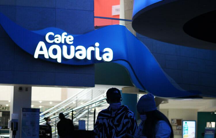 Dining at Georgia Aquarium's Café Aquaria 17