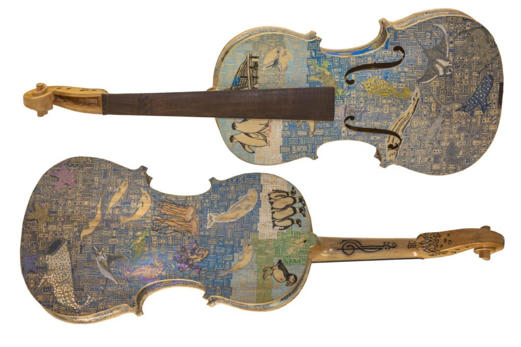 Georgia Aquarium & Shepherd Center Violin Raffle